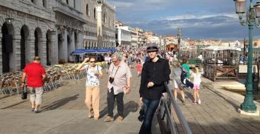 Победитель конкурса «Террадек. Террасы в ландшафтном дизайне» съездил на Архитектурную биеннале в Венеции